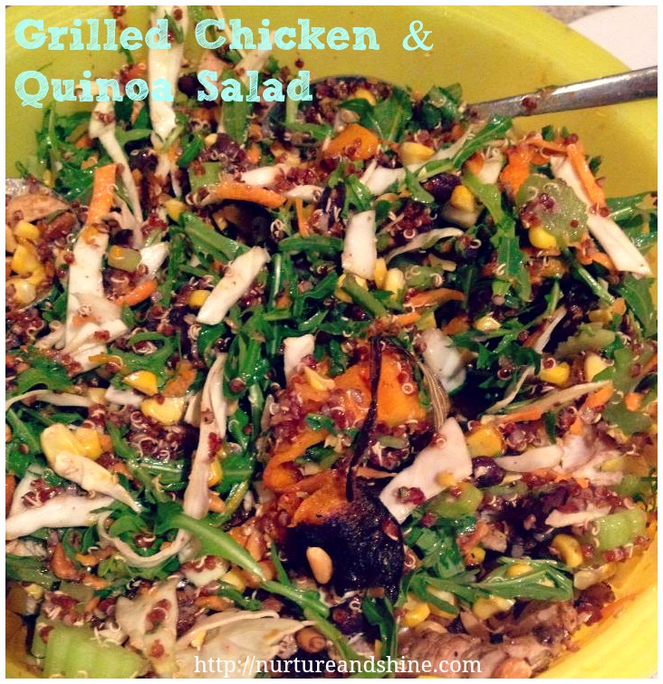 Grilled Chicken & Quinoa Salad